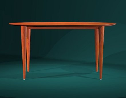 Dining table by Todd Fillingham