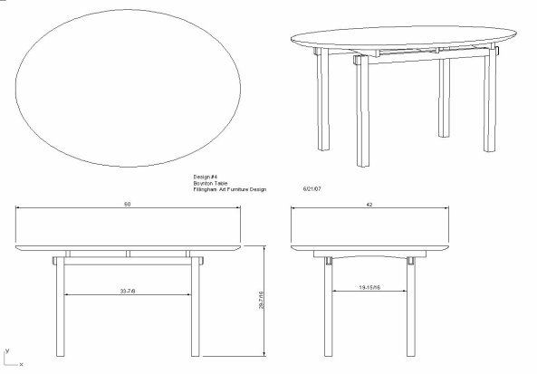 Draw Leaf Dining Table Plans