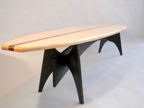 Charmant Surfboard Table By Todd Fillingham