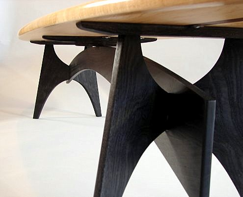 Surfboard Table by Todd Fillingham