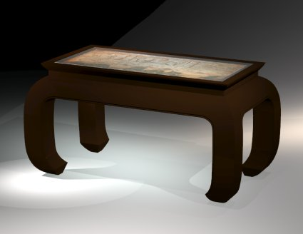 Asian style table by Todd Fillingham