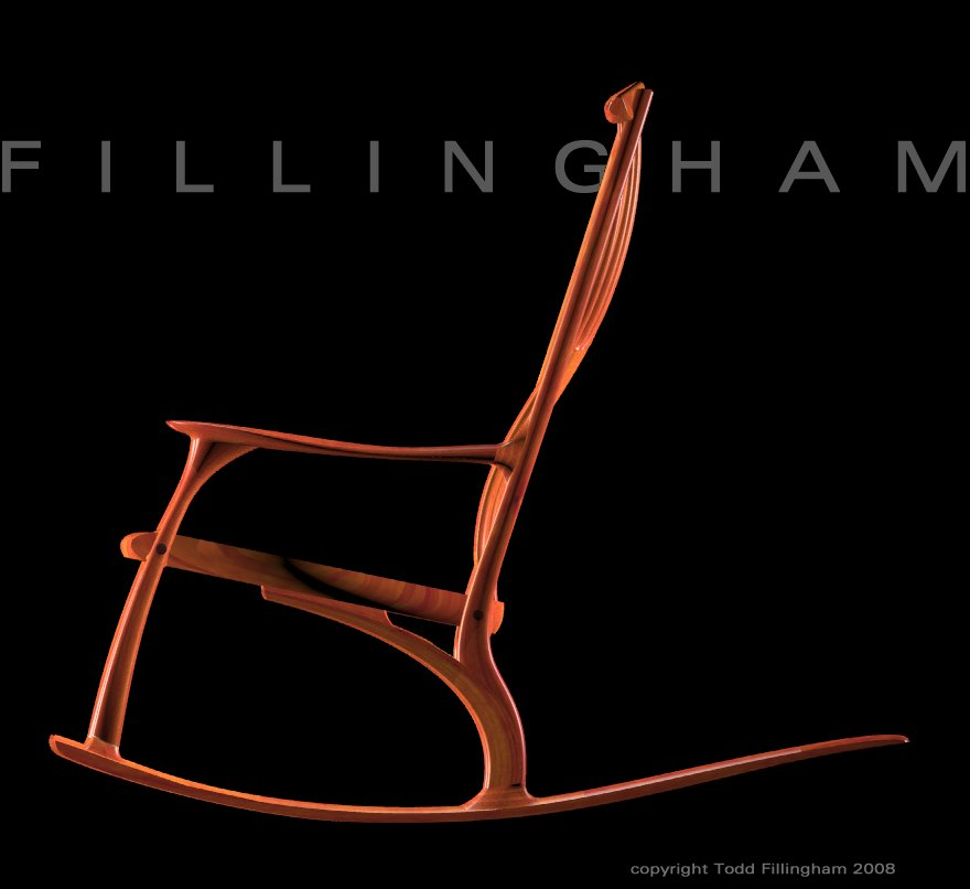 rocking chair | Fillingham Art Furniture Design