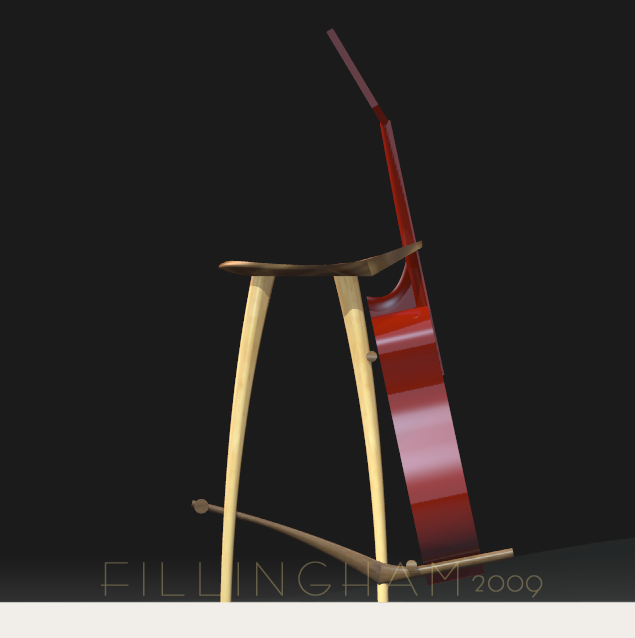 Guitar Stool by Todd Fillingham