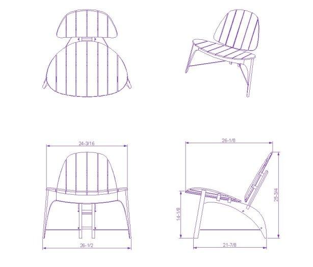 Adirondack Chair Plans Dwg Plans Free Download Minor50uau