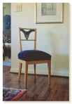 Biedermeier desk chair.
